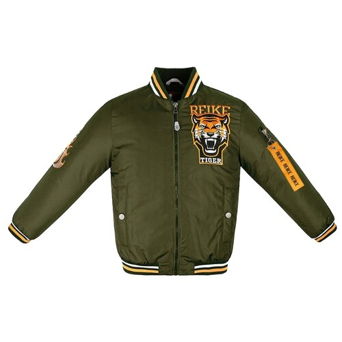 Куртка Reike Basic размер 140, хаки куртка reike basic 44 489