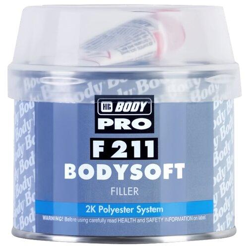 Комплект (шпатлевка, отвердитель) HB BODY PRO F211 Bodysoft 0.38 кг