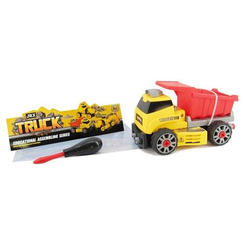 Купить Винтовой конструктор JRX Truck 72283 Строительный самосвал, Конструкторы