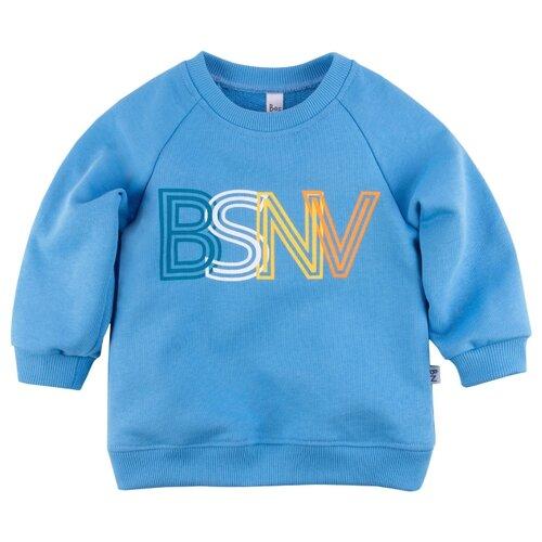 Купить Свитшот Bossa Nova размер 86, голубой, Джемперы и толстовки