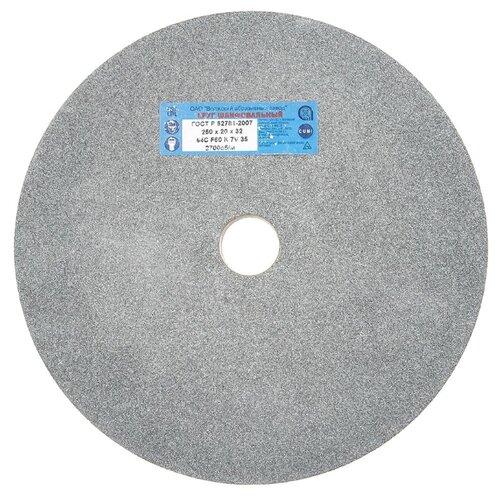 Шлифовальный круг Волжский абразивный завод 250х20х32 64С круг шлифовальный волжский аз 1 300 х 40 х 127 64с f46 k l 40см