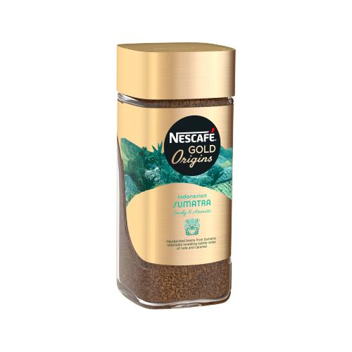 Кофе растворимый Nescafe Gold Origins Sumatra 85 гРастворимый кофе<br>