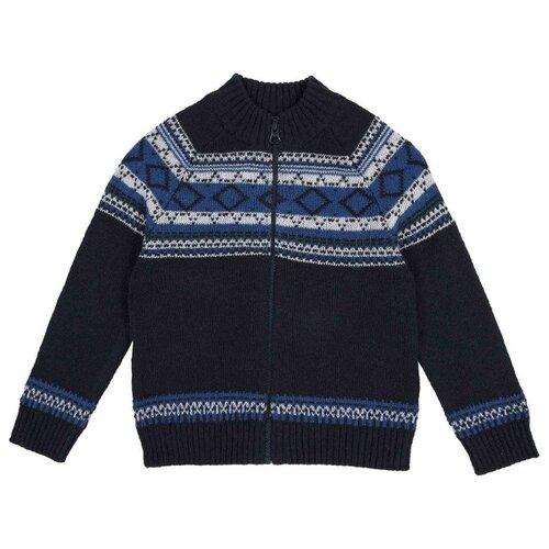 Купить Кардиган Chicco размер 116, тёмно-синий, Свитеры и кардиганы