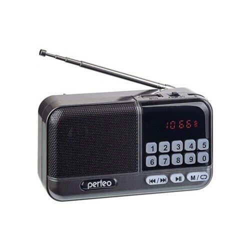 Радиоприемник Perfeo ASPEN FM+ i20 серый
