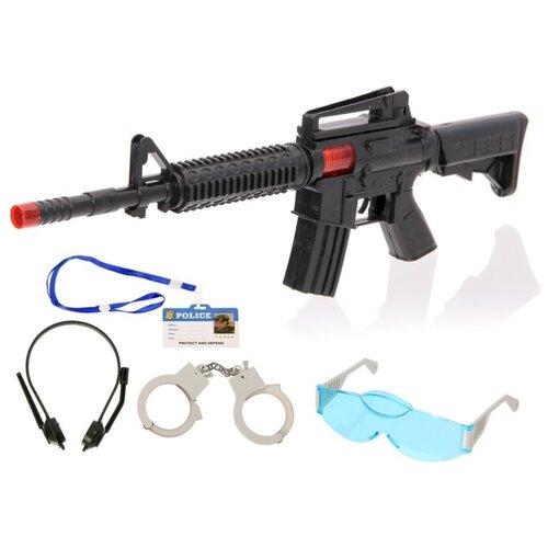 Купить Набор полицейского «М16», 5 предметов, Сима-ленд, Полицейские и шпионы
