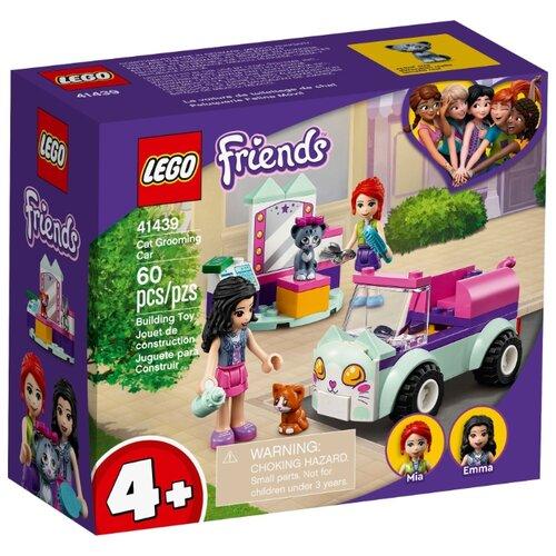 Купить Конструктор LEGO Friends 41439 Передвижной груминг-салон для кошек, Конструкторы
