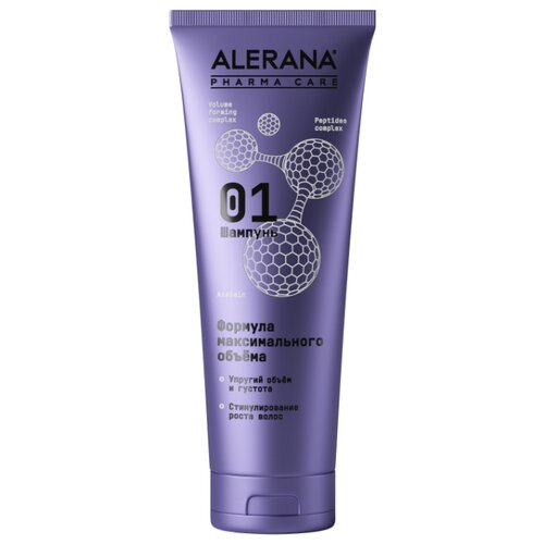 Alerana шампунь для волос Pharma Care Формула максимального объема, 260 мл