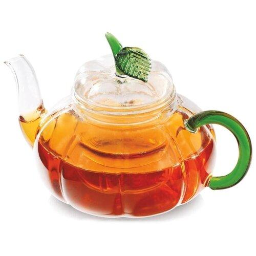 Vitax Заварочный чайник Belsay VX-3203 1 л, прозрачный/зеленый