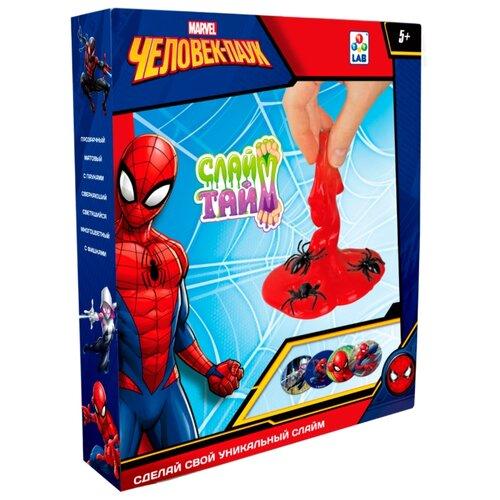 Купить Набор 1 TOY Сделай слайм. Человек-паук Т14293, Наборы для исследований