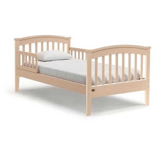 Кровать детская Nuovita Perla lungo, размер (ДхШ): 166х86.5 см, спальное место (ДхШ): 160х80 см, каркас: массив дерева, цвет: sbiancato