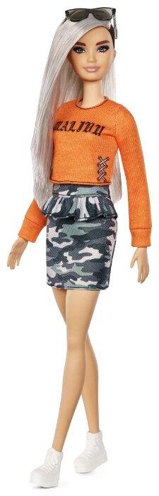 Кукла Barbie Игра с модой Оригинальная с серебристыми волосами, 29 см, FXL47