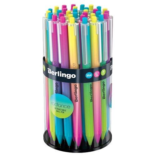 Купить Berlingo Набор шариковых ручек Radiance, 0.7 мм, 50 шт, синий цвет чернил, Ручки