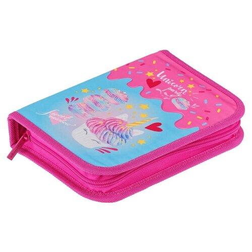 Купить Berlingo Пенал Unicorn party (PK05942) розовый, Пеналы