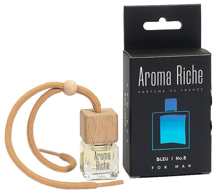 Автолидер Ароматизатор для автомобиля, Aroma Riche мужской, Bleu №8 5 мл