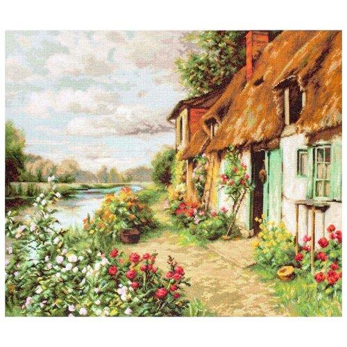 Купить Luca-S Набор для вышивания Пейзаж 42.5 x 34 см (B571), Наборы для вышивания