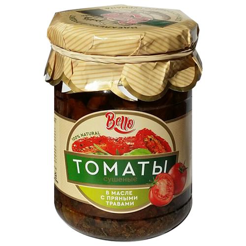 цена на Томаты сушеные в масле с пряными травами Bello стеклянная банка 240 г