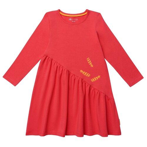 Платье Kogankids размер 92, красный
