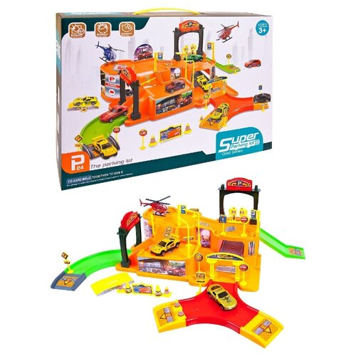 Купить Junfa toys P7188 разноцветный, Детские парковки и гаражи