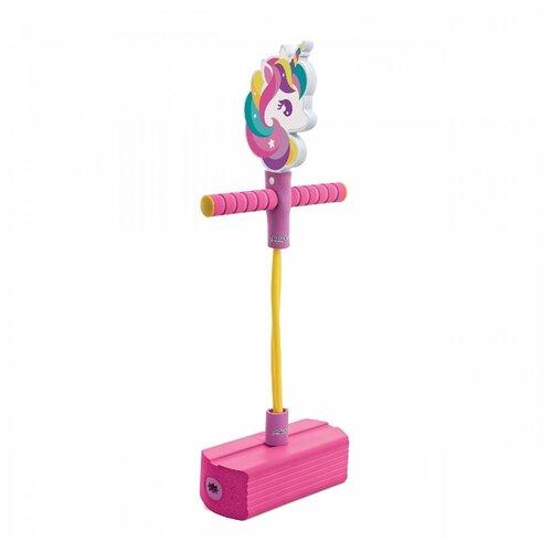Тренажер для прыжков Moby Kids Moby-Jumper Единорог со звуком фиолетовый