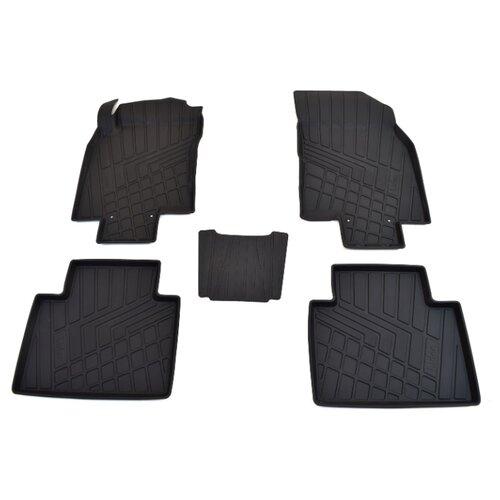 Фото - Комплект ковриков NorPlast NP11-LdC-69-250 для Renault Koleos 5 шт. черный комплект ковриков norplast np11 ldc 69 250 renault koleos 5 шт черный