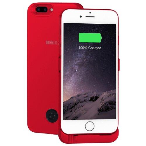 Купить Чехол-аккумулятор INTERSTEP Metal battery case для iPhone 6 Plus/7 Plus red