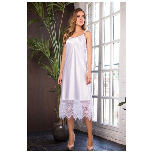 Сорочка Mia-Mia, размер L(48), белый сорочка mia mia размер xxxl 54 белый голубой