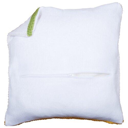 Купить Обратная сторона наволочки с молнией Vervaco, цвет: белый, 45x45 см, арт. PN-0174415, Ткани