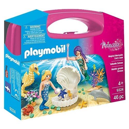 Купить Набор с элементами конструктора Playmobil Princess 9324 Русалка, Конструкторы