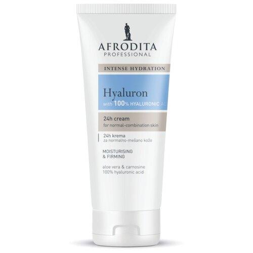 Крем для лица увлажняющий для нормальной и комбинированной кожи Hyaluron, Afrodita Cosmetics, Словения, 150мл