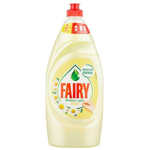 Fairy Средство для мытья посуды Ромашка и витамин Е 0.9 л