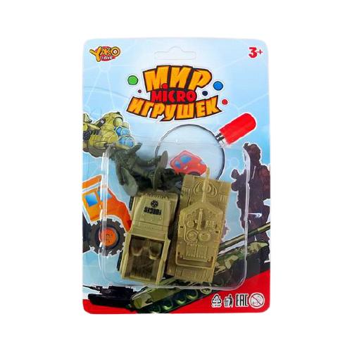 Фото - Набор фигурок Yako Мир micro игрушек M9395 набор машин yako мир моих игрушек m7558 1 белый