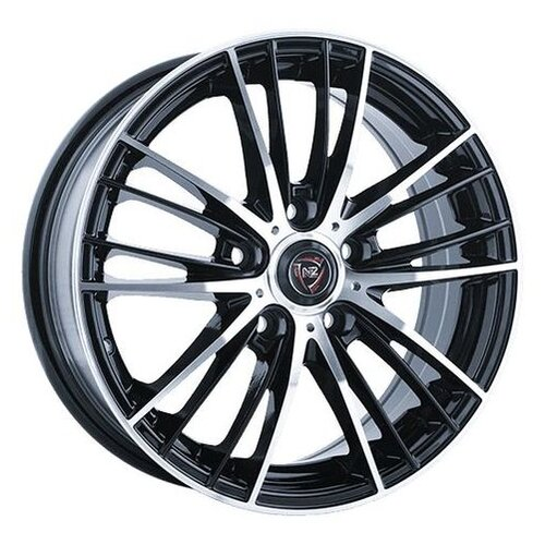 Фото - Колесный диск NZ Wheels F-33 7x17/5x108 D63.3 ET55 BKF колесный диск nz wheels sh662 7x17 5x108 d63 3 et55 sf