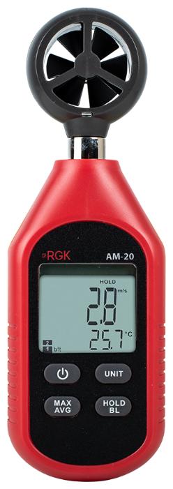 Анемометр RGK AM-20