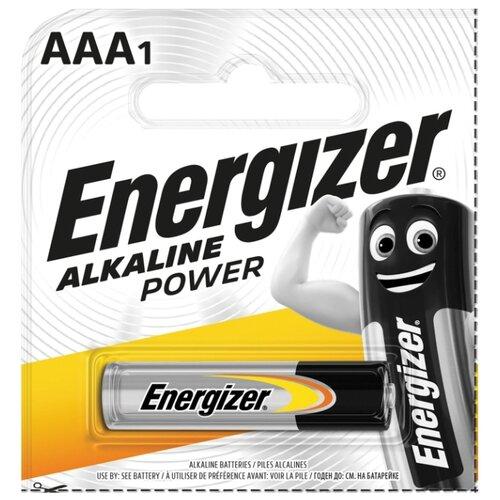 Фото - Батарейка Energizer Alkaline Power AAA, 1 шт. батарейка energizer cr123 1 шт 4 уп