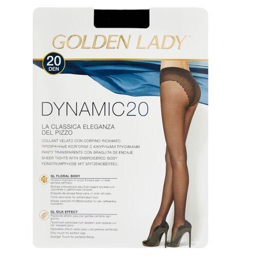 Колготки Golden Lady Dynamic 20 den, размер 3-M, nero (черный) колготки golden lady ciao 20 den размер 3 m nero черный