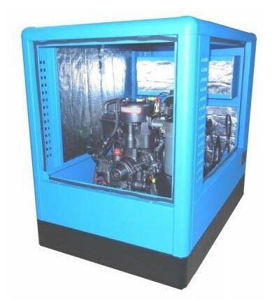 Дизельный генератор Вепрь АДА 10-230 ТЯ в кожухе (9700 Вт)