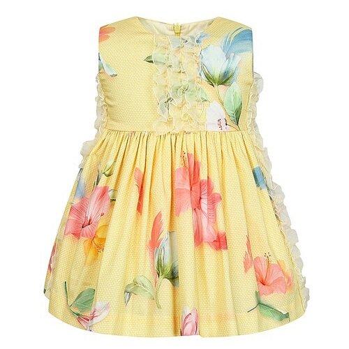 Платье Lapin House размер 104, желтый