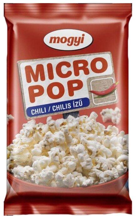 Попкорн Mogyi Micropop со вкусом чили в зернах, 100 г