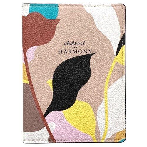 Обложка для паспорта 100х135 мм, иск.кожа. Chloe IPC050/beige