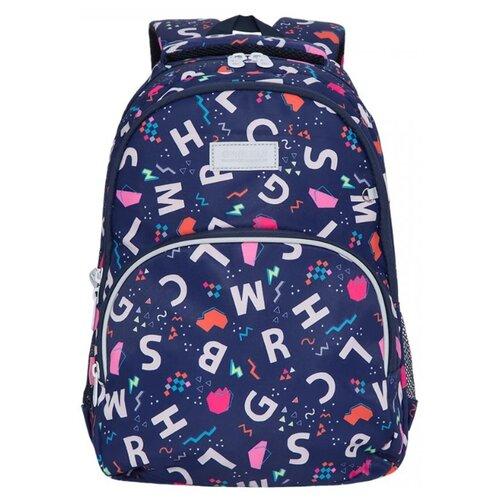 Купить Grizzly Рюкзак школьный, буквы, RG-160-5/1, Рюкзаки, ранцы