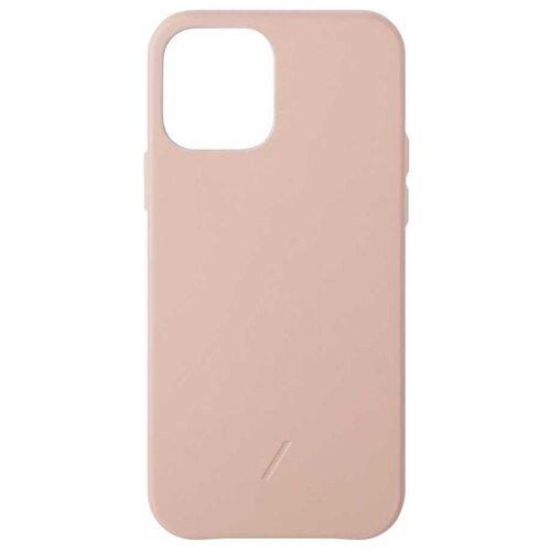 Чехол-накладка Native Union CLIC CLASSIC для Apple iPhone 12/12 Pro розовый чехол накладка native union clic classic для apple iphone 12 pro max мятный