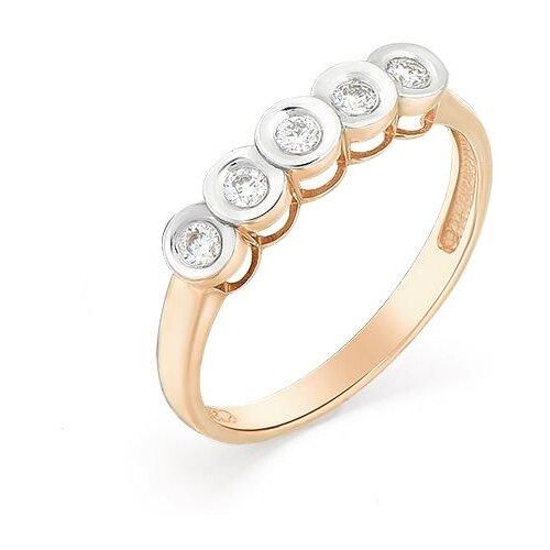 Мастер Бриллиант Кольцо с 5 бриллиантами из красного золота 1-106-494, размер 18.5 мастер бриллиант кольцо с 6 бриллиантами из красного золота 1 106 567 размер 18 5