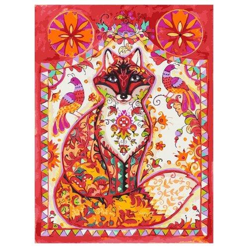 Купить Белоснежка Картина по номерам Лиса 30х40 см (293-AS), Картины по номерам и контурам