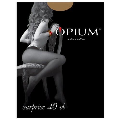 Колготки Opium Surprise 40 den, размер 2, visone (бежевый) колготки opium comfort 20den 2 visone