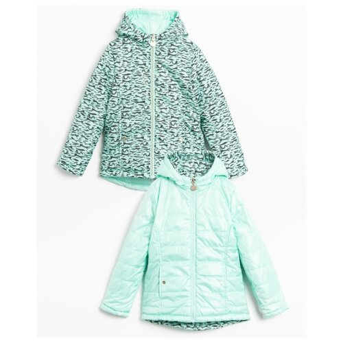 Куртка COCCODRILLO Caturday W20152501CAT размер 116, мятный куртка утепленная coccodrillo coccodrillo mp002xg00cze