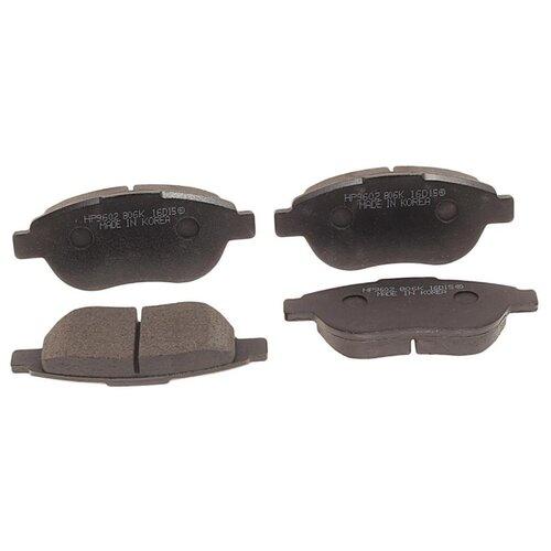 Фото - Дисковые тормозные колодки передние HONG SUNG BRAKE HP9602 для Citroen Xsara, Citroen Xsara Picasso, Citroen C4 (4 шт.) дисковые тормозные колодки передние hong sung brake hp5010 для toyota land cruiser 4 шт