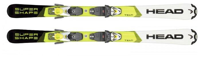 Горные лыжи Head Supershapeteam Slr Pro (117-157) с креплениями Slr 7.5 Gw Ac Brake 78 [H] 19-20