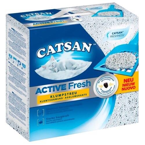 Комкующийся наполнитель Catsan Active Fresh (5 л).