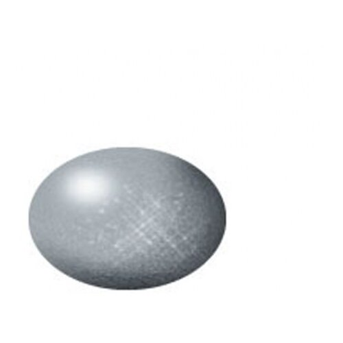 Акриловая краска для моделизма серебристая металлик