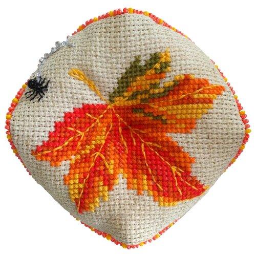 Купить ZENGANA Набор для вышивания бисером и нитками Паучок 9, 5 х 9, 5 см (М-065), Наборы для вышивания